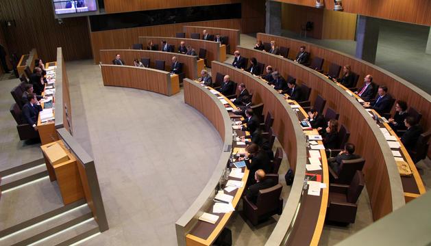 Un moment de la sessió ordinària de Consell General d'avui