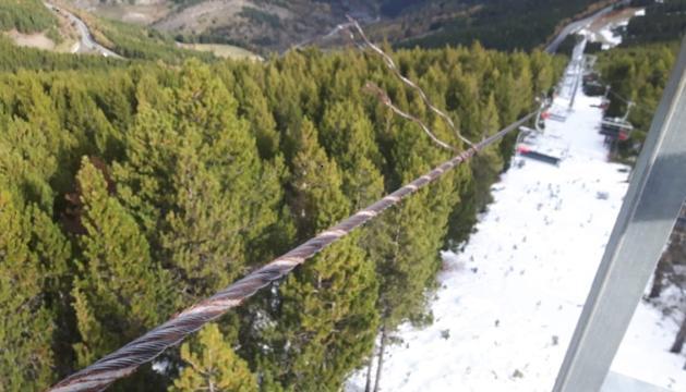 Els cables tallats es començaran a reposar a finals de setmana o dilluns.
