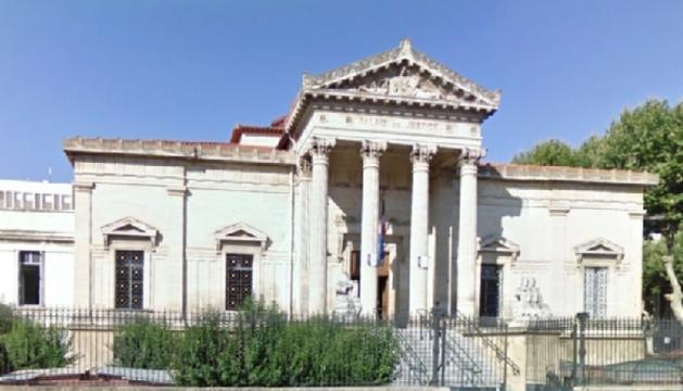 El Tribunal de gran instància de Perpinyà.