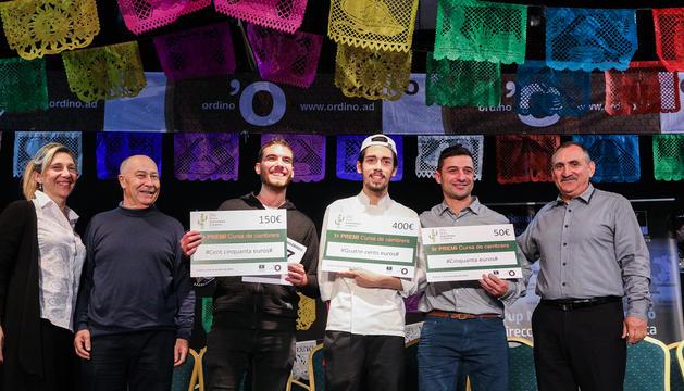 Els guanyadors de la 3a Cursa de cambrers d'Ordino