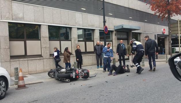 Cap persona va resultar ferida per l'accident.