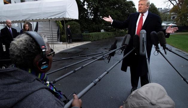 El president nord-americà, Donald Trump.