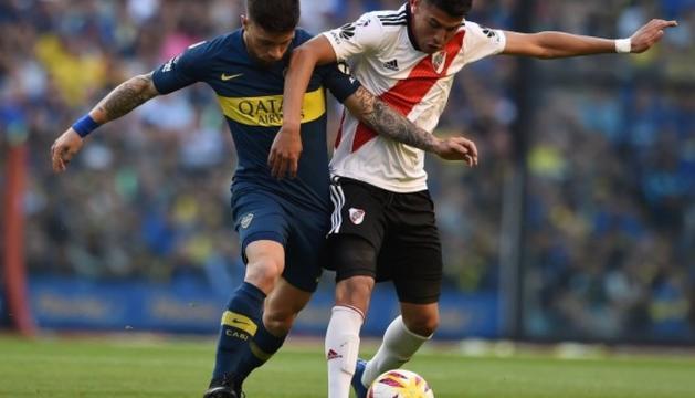 Boca i River disputen aquest vespre l'anada de la Libertadores.