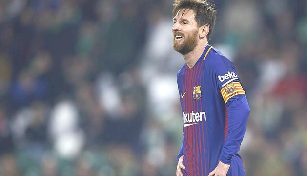 Leo Messi pot ser la gran novetat en l'onze de Valverde.