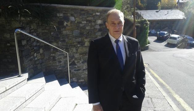El president del grup parlamentari mixt, Josep Pintat.