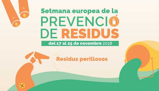 La Setmana Europea de la Prevenció de Residus enguany se centra en la temàtica dels residus perillosos