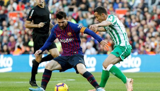 Messi va reaparèixer ahir a l'equip amb derrota.