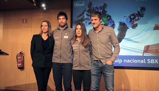 L'equip nacional de SBX
