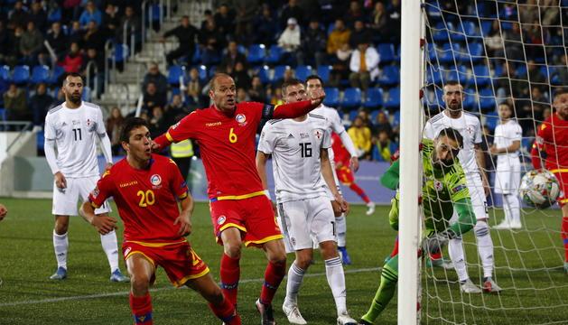 Cristian Martínez ha empatat el partit al minut 62