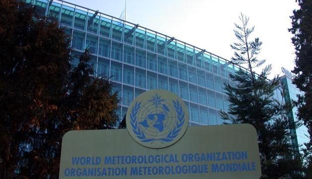 L'edifici de la Organització Meteorològica Mundial, situat a Ginebra