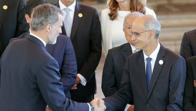 Toni Martí assisteix a la sessió plenària dels caps d'Estat i de Govern de la Cimera Iberoamericana