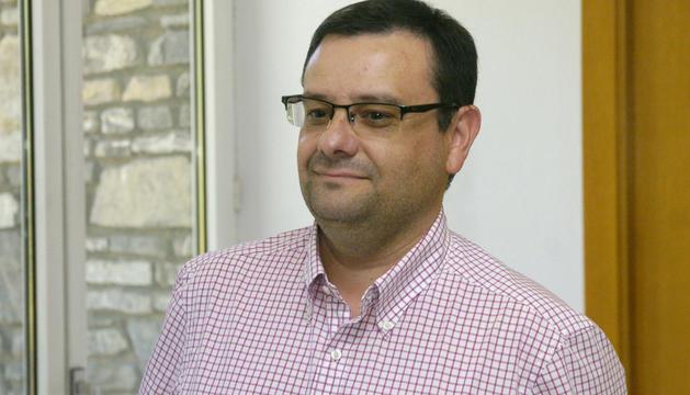 Salvador Prieto, president del sindicat de la policia.