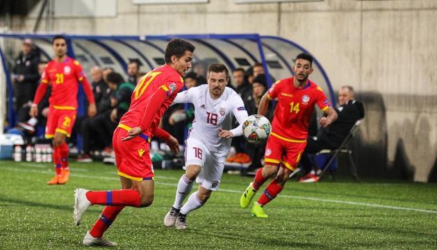 Els de Koldo Álvarez no han aconseguit marcar contra Letònia