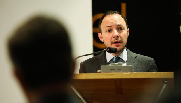Xavier Espot ha intervingut aquest matí al Congrés d'Ombudsman