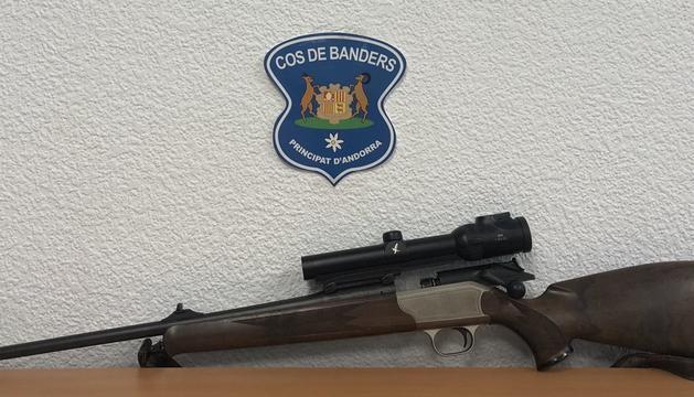 L'arma que van utilitzar els caçadors