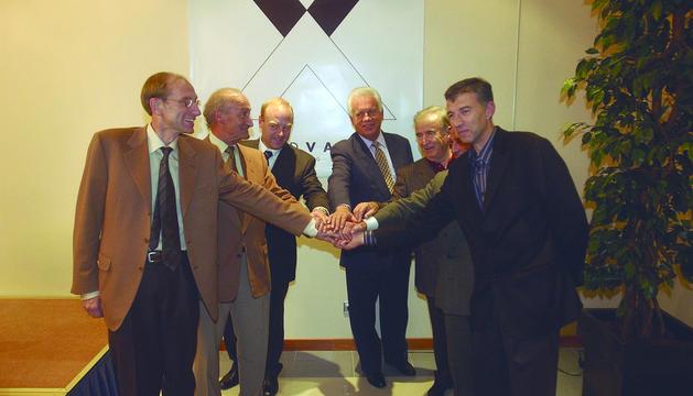 Els màxims responsables dels dos camps de neu que formen Grandvalira, el 2003