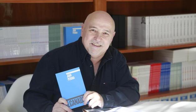 L'escriptor Joan Peruga.