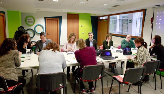 Reunió de la comissió CTRASA, avui