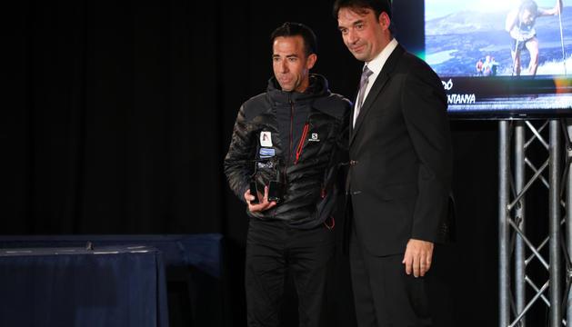 Ferran Teixidó va rebre el premi com a millor esportista d'estiu.
