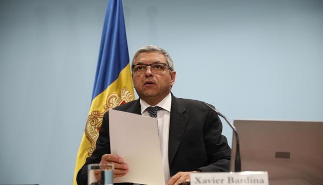El director de Consell Regulador del Joc, Xavier Bardina, en la presentació dels resultats del concurs.