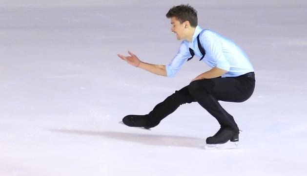 Un patinador durant una edició anterior del campionat.
