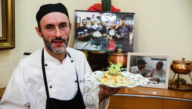 João da Costa, xef del restaurant de l'Hotel Cosmos