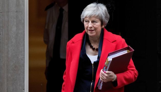 La primera ministra britànica, Theresa May.