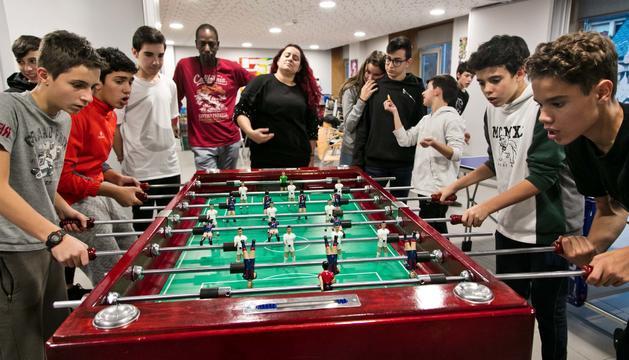 Campionat de futbolí a la Massana