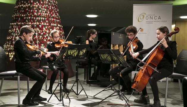 Una imatge del concert de Nadal de l'any passat.