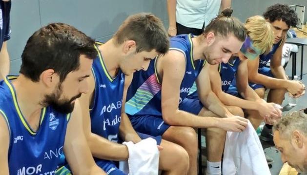 Els jugadors del MoraBanc B.