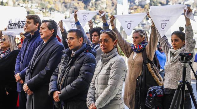 Protesta a favor de la despenalització de l'avortament, avui