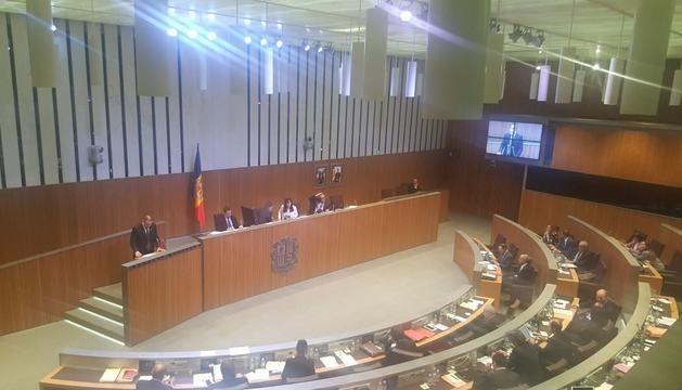 Sessió del Consell General, avui