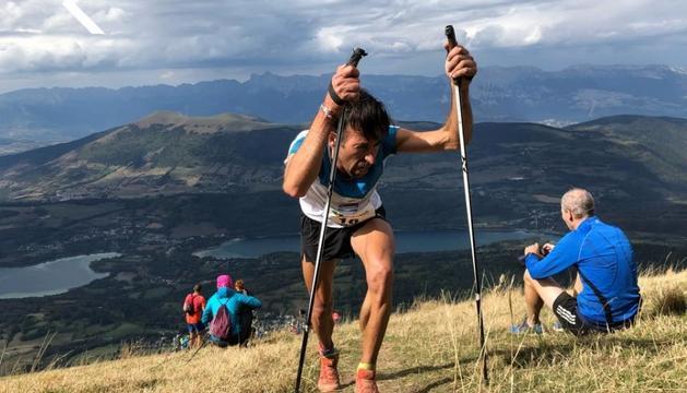 Ferran Teixidó al quilòmetre vertical de la Grand Serre, aquesta temporada.