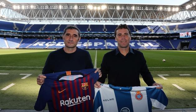 Valverde i Rubi a Cornellà.