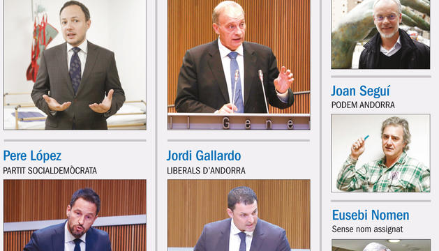 Set candidatures presentaran llista nacional a les eleccions
