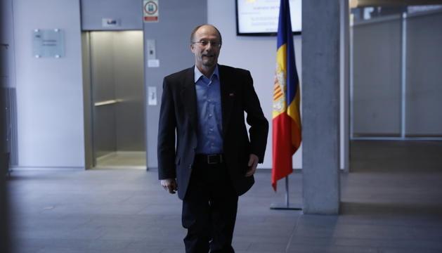 El conseller general d'SDP, Víctor Naudi.