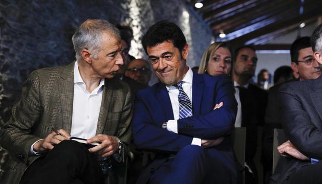 Joan Viladomat i Josep Àngel Mortés.