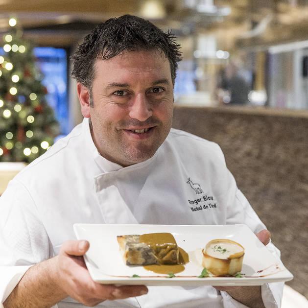 Roger Biosca, cap de cuina del Restaurant Hotel l'Isard, de la capital