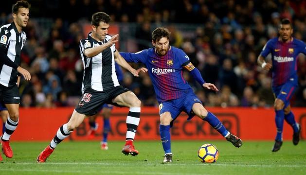 Un enfrontament anterior entre Barça i Llevant.