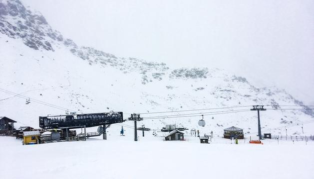 Arcalís té gruixos d'entre 40 i 60 centímetres de neu.