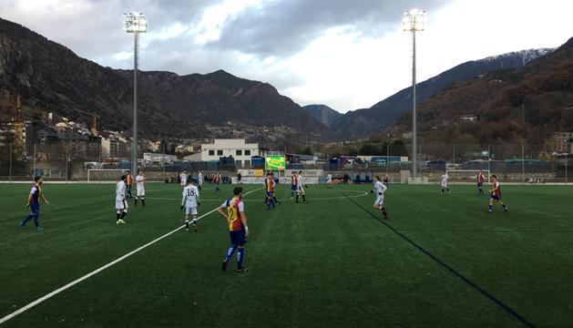 L'FC Andorra va empatar a zero contra el Borges Blanques.