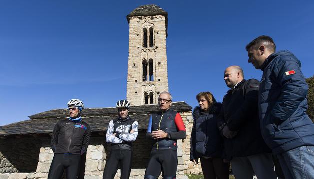 Presentació aquest matí a Engolasters de l'etapa andorrana de la Vuelta 2019
