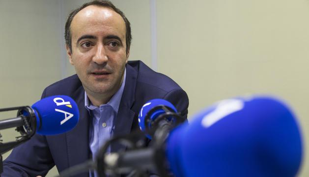 David Baró assegura que té temps per saltar a la política nacional.
