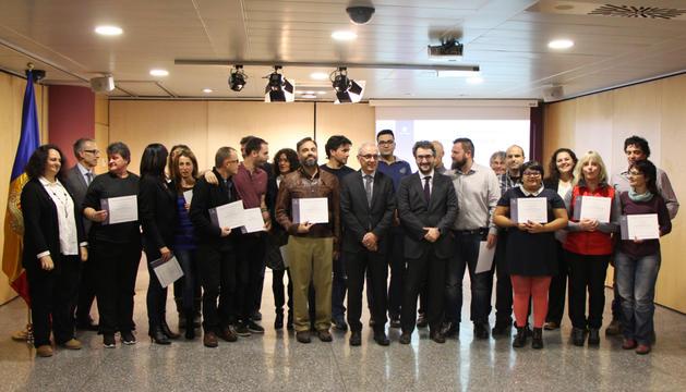 Lliurament dels certificats d'informadors turístics