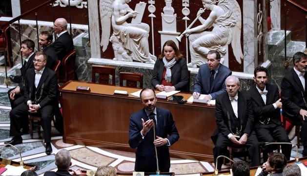 El primer ministre francès, Edouard Philippe.