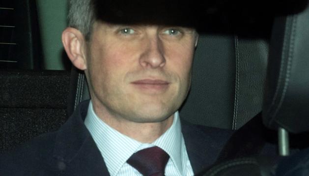 El ministre de Defensa britànic, Gavin Williamson.