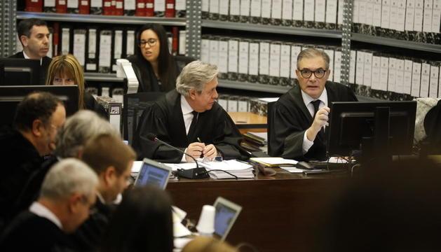Josep Maria Pijuan, a la dreta, ha quedat recusat en la primera causa del 'cas BPA'