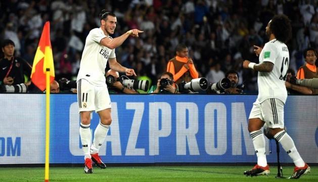 Gareth Bale, protagonista del Reial Madrid amb tres gols.