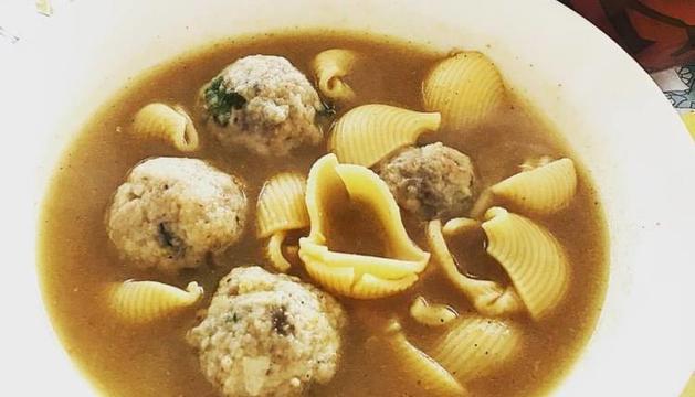 Tot i que mengeu escudella i carn d'olla, mengeu-vos les verdures del brou.