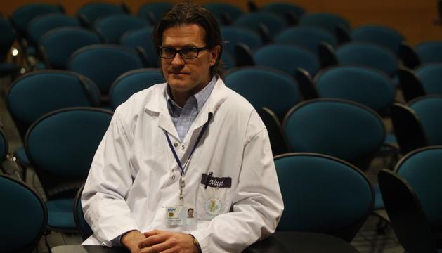 El traumatòleg Ignacio Torrero, en una fotografia d'arxiu.